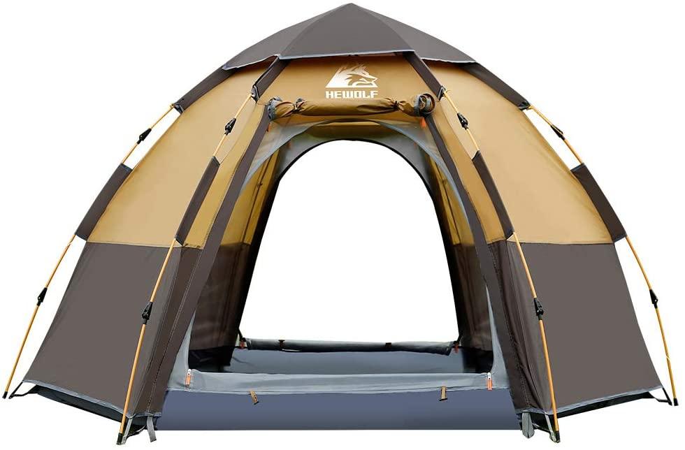 Runner Up:  Hewolf Waterproof Instant Camping Tent