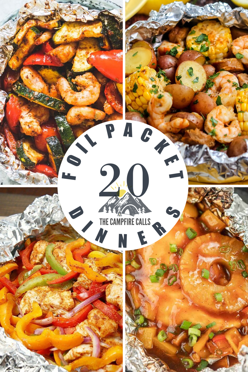 Looking for a fun and easy way to cook while camping? Try Campfire Foil Packet Dinners! Here are 25 recipes just waiting for you to try.