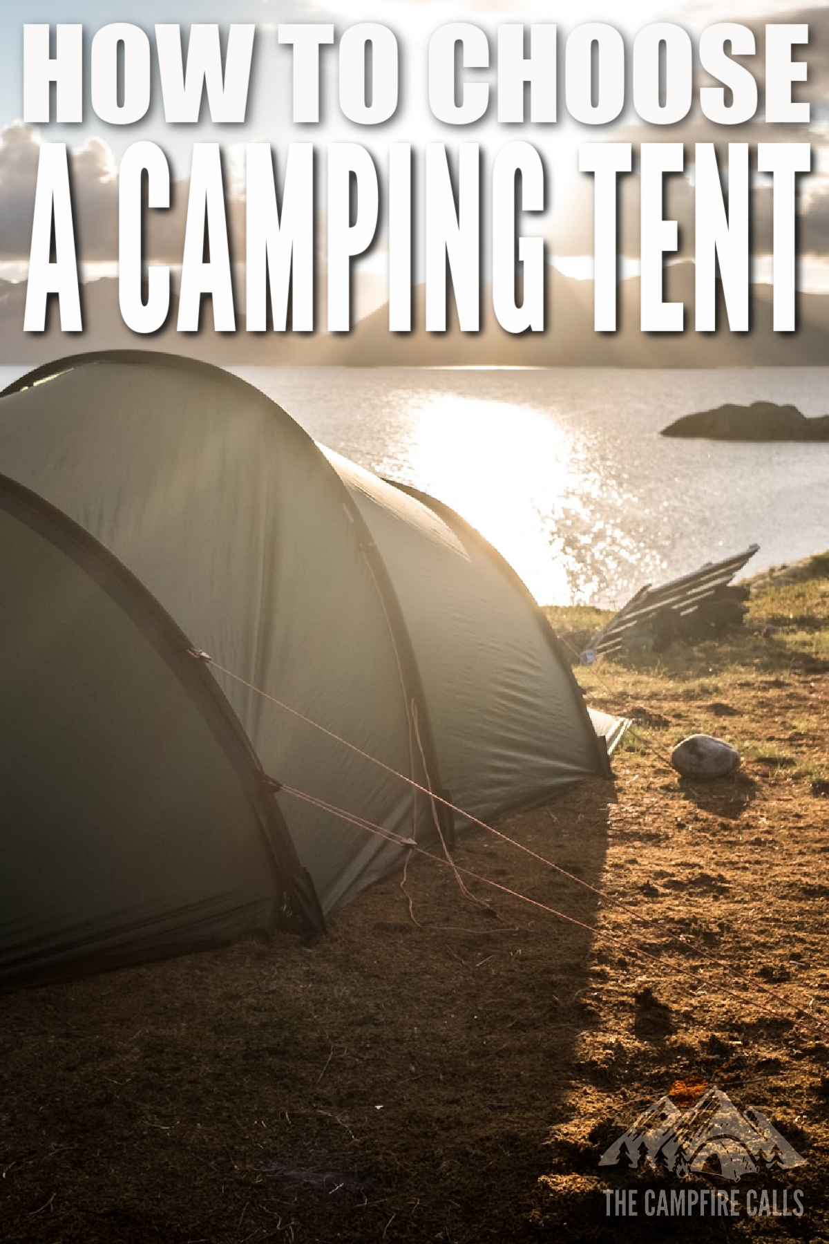 Here's our guide on how to choose a camping tent. We're going to show you the important points to consider when choosing a camping tent.