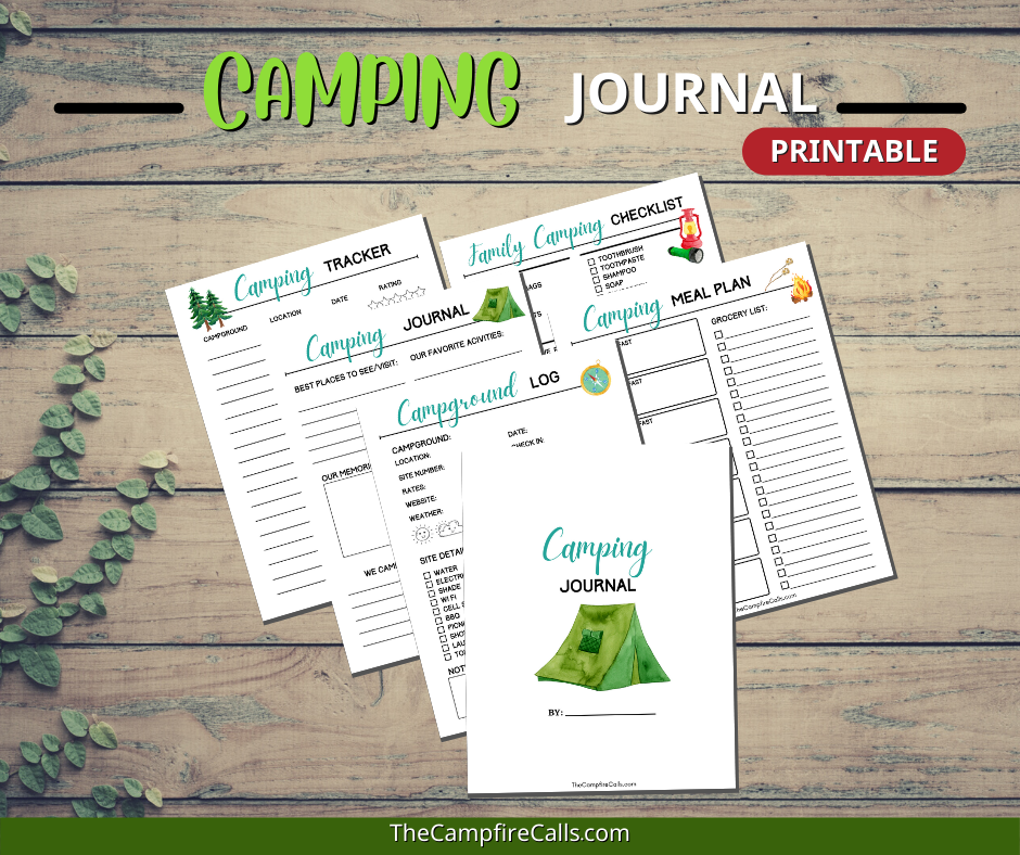 Use this Camping Planner Printable Bundle to plan family camping adventures and record all your camping memories for years to come.
