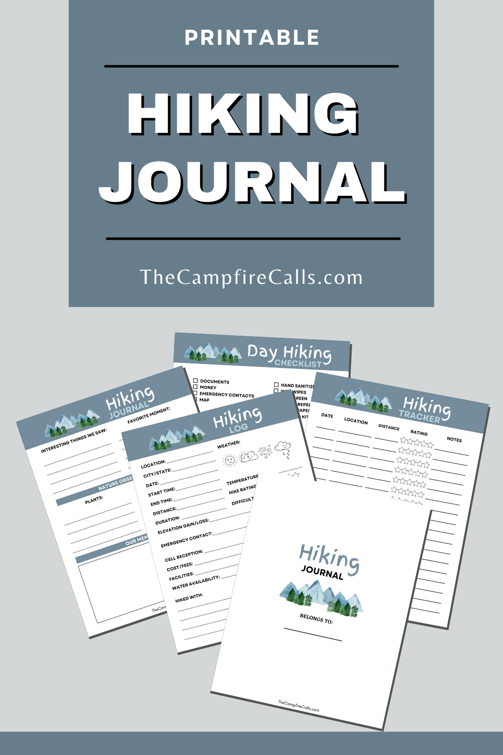 Use this FREE Hiking Planner Printable Bundle to plan family hiking adventures and record all your hiking memories for years to come.